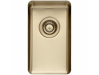 Appliances Online Titan Small Single Bowl Sink Pearl Gold TSPG28