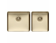 Appliances Online Titan Large and Medium Bowl Sink Pearl Gold TSPG4052