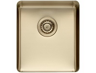 Appliances Online Titan Medium Single Bowl Sink Pearl Gold TSPG40