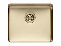 Appliances Online Titan Large Single Bowl Sink Pearl Gold TSPG52
