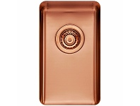 Appliances Online Titan Small Single Bowl Sink Rose Gold TSRG28
