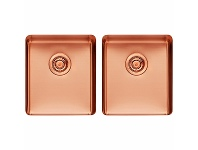 Appliances Online Titan Medium and Medium Double Bowl Rose Gold TSRG4040