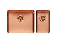Appliances Online Titan Large and Small Bowl Rose Gold TSRG5228