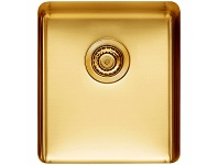 Appliances Online Titan Medium Single Bowl Sink Royal Gold TSRY40