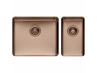 Appliances Online Titan Large and Small Bowl Sink Sunstone TSSN5228
