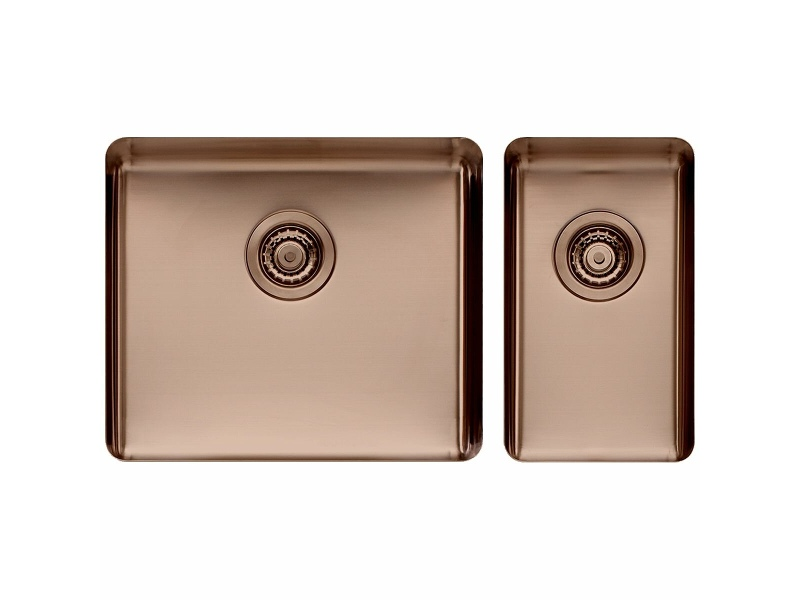 Titan Large and Small Bowl Sink Sunstone TSSN5228