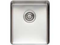 Appliances Online Titan Medium Single Bowl Sink Brushed Steel TSSS40