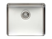 Titan Large Single Bowl Sink Brushed Steel TSSS52