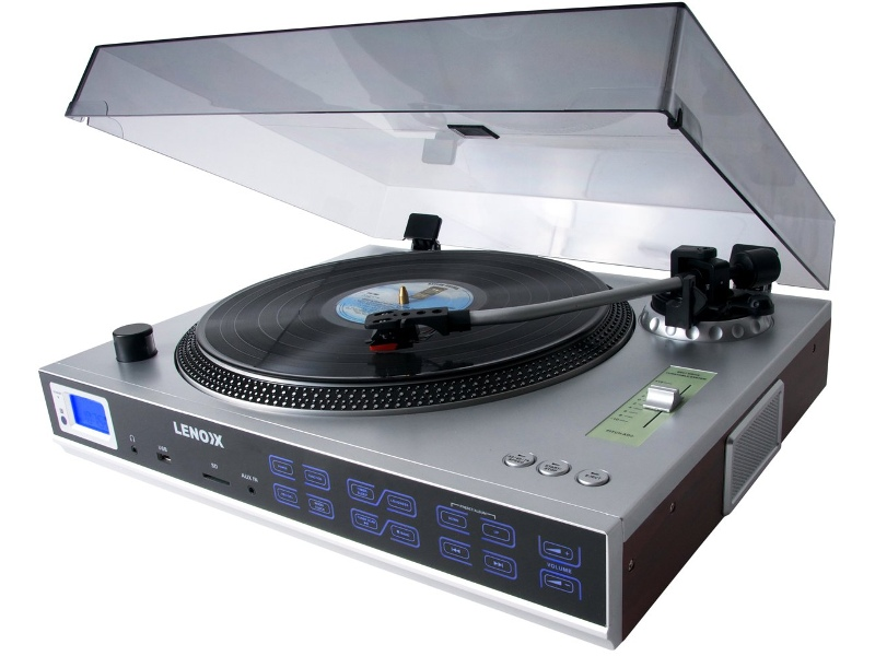 Lenoxx TT650 Turntable with MP3 Player
