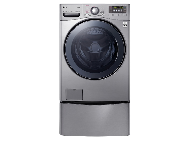 LG TwinWash® with TrueSteam 15kg/8kg Washer Dryer Combo with MiniWasher TWIN171215S