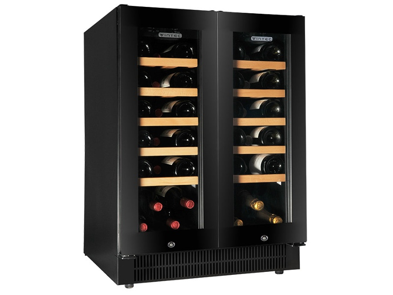 Vintec 42 Bottle Wine Storage Cabinet V40DG2EBK