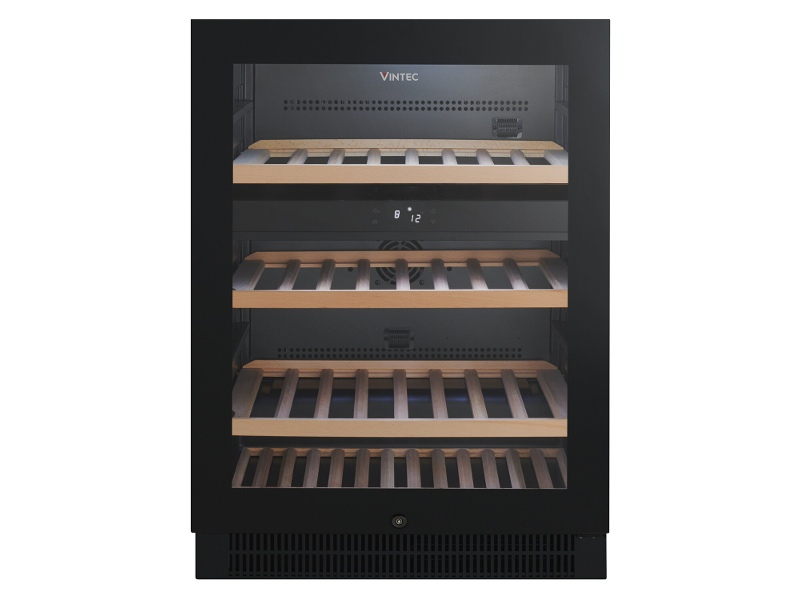 Vintec 50 Bottle Dual Zone Wine Storage Cabinet VWD050SBA
