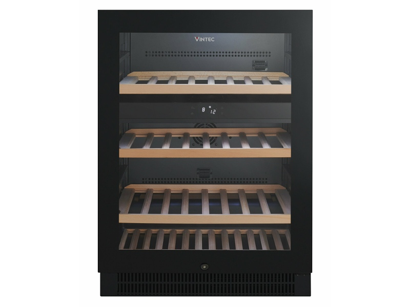 Vintec 50 Bottle Dual Zone Wine Storage Cabinet VWD050SBB