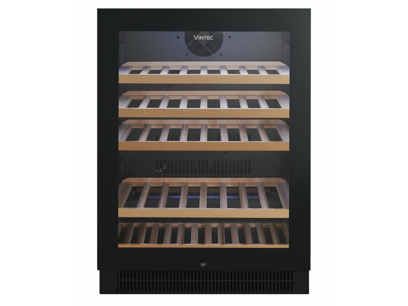 Vintec 50 Bottle Wine Storage Cabinet Black VWS050SBB