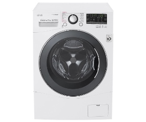 LG 11kg Front Load Washing Machine with TrueSteam WD1411SBW