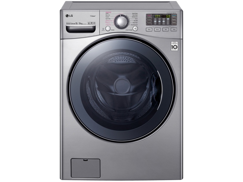 LG 15kg/8kg Washer Dryer Combo with True Steam WDC1215HSVE