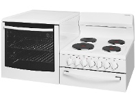 Appliances Online Westinghouse WDE135WA-L Elevated Electric Fan Forced Stove/Oven