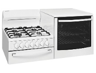 Appliances Online Westinghouse WDG103WA-L Elevated Natural Gas Oven
