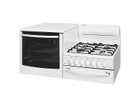 Appliances Online Westinghouse WDG103WBNG-L Elevated Natural Gas Oven