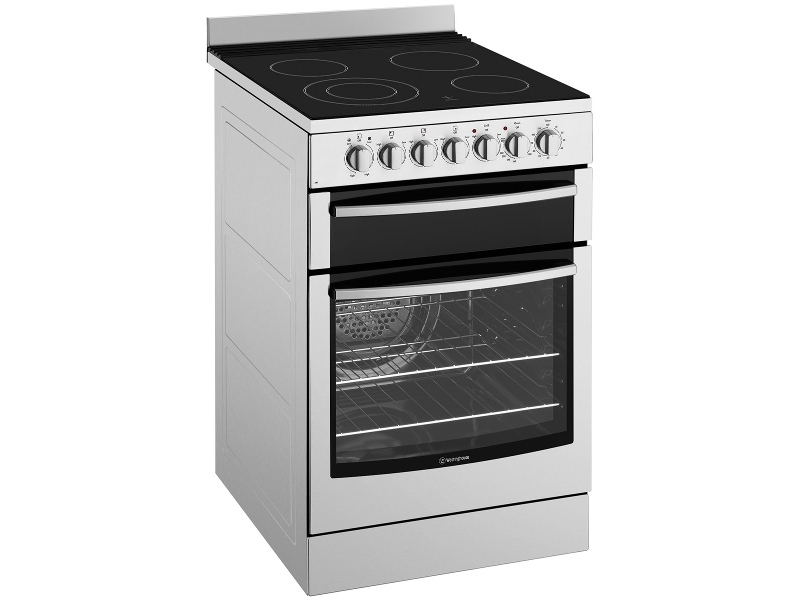 Westinghouse WFE547SA 54cm Freestanding Electric Oven/Stove