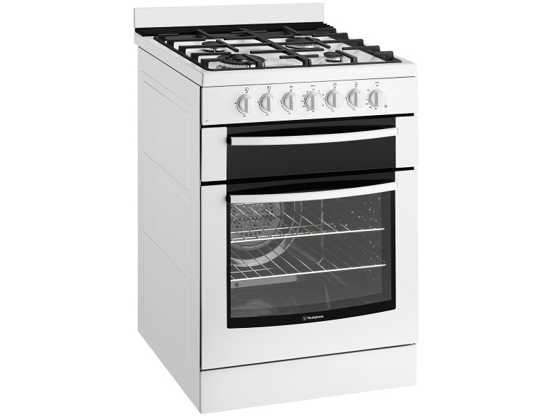 Westinghouse WFE619WA 60cm Freestanding Dual Fuel Oven/Stove
