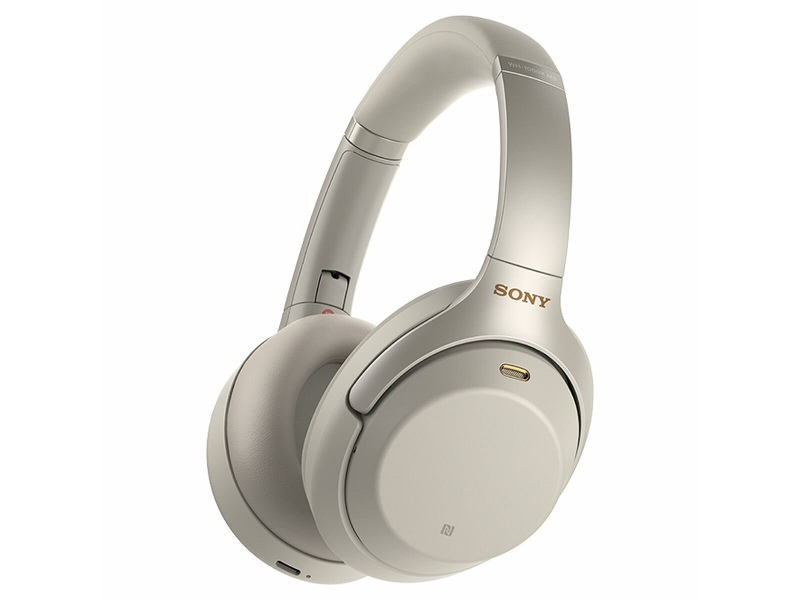 Sony Wireless Noise Cancelling Bluetooth Over Ear Headphones Silver WH1000XM3S
