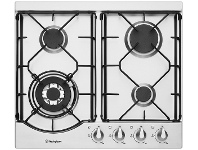 Appliances Online Westinghouse WHG644SA 60cm Natural Gas Cooktop
