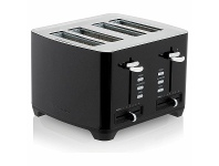 Appliances Online Westinghouse WHTS4S05K 4 Slice Black Toaster