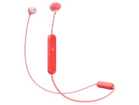 Appliances Online Sony Wireless Bluetooth In Ear Headphones Red WIC300R