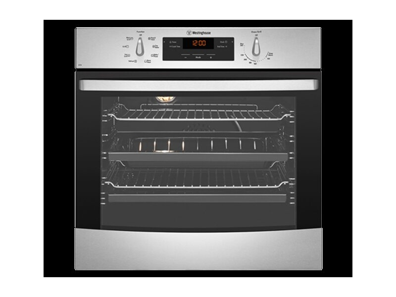 Westinghouse 60cm Stainless Steel Electric Oven WVE616SC
