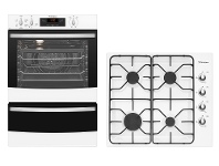 Appliances Online Westinghouse Cooking Package WVE665WWHG640WB