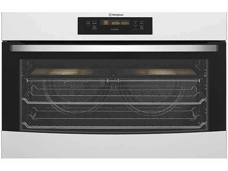 Westinghouse 90cm Pyrolytic Electric Built-In Oven WVEP916SC
