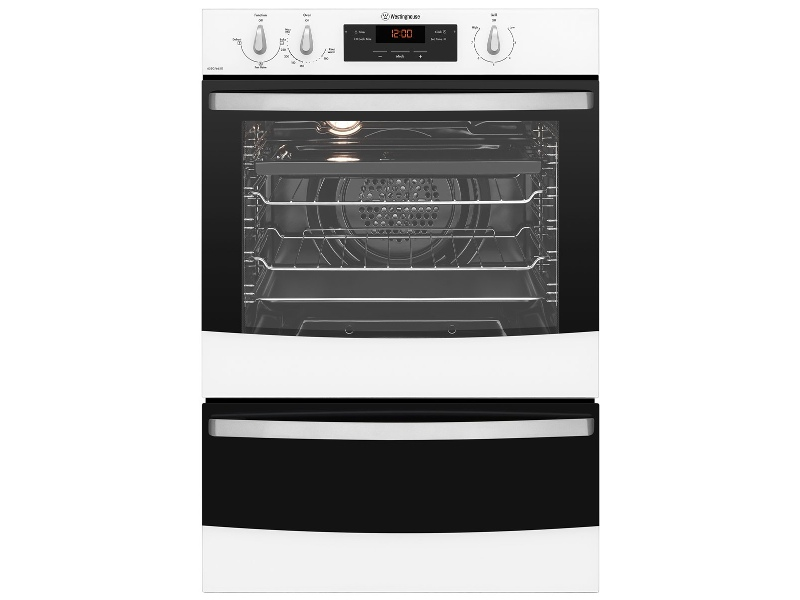 Westinghouse WVG665W 60cm Natural Gas Built-In Double Oven