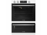 Appliances Online Westinghouse 60cm Natural Gas Oven with Separate Electric Grill WVG665WCNG