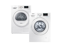 Appliances Online Samsung 8.5kg/8kg Laundry Package WW85J54E0IWDV80M5010IW