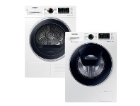 Appliances Online Samsung 8.5kg/8kg Laundry Package WW85K54E0UWDV80M5010