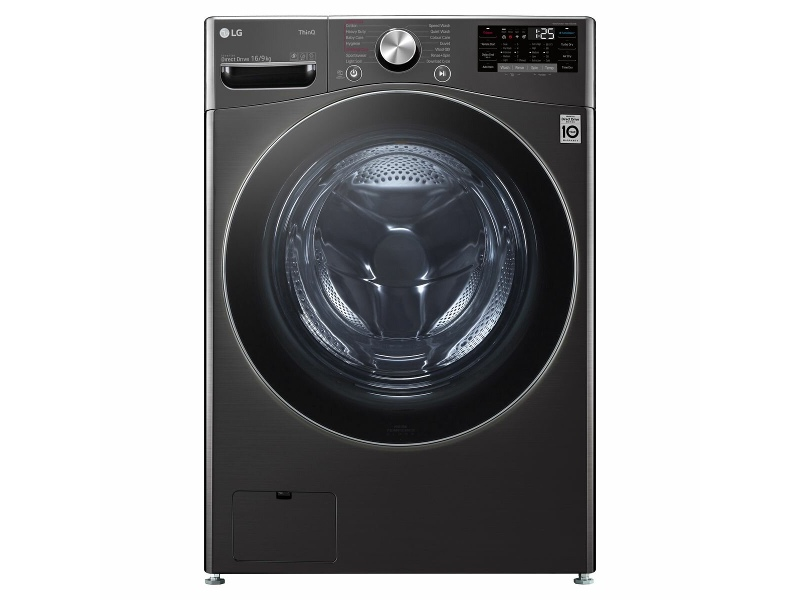 LG 16kg/9kg Steam+ and Turbo Clean Washer Dryer Combo WXLC-1116B