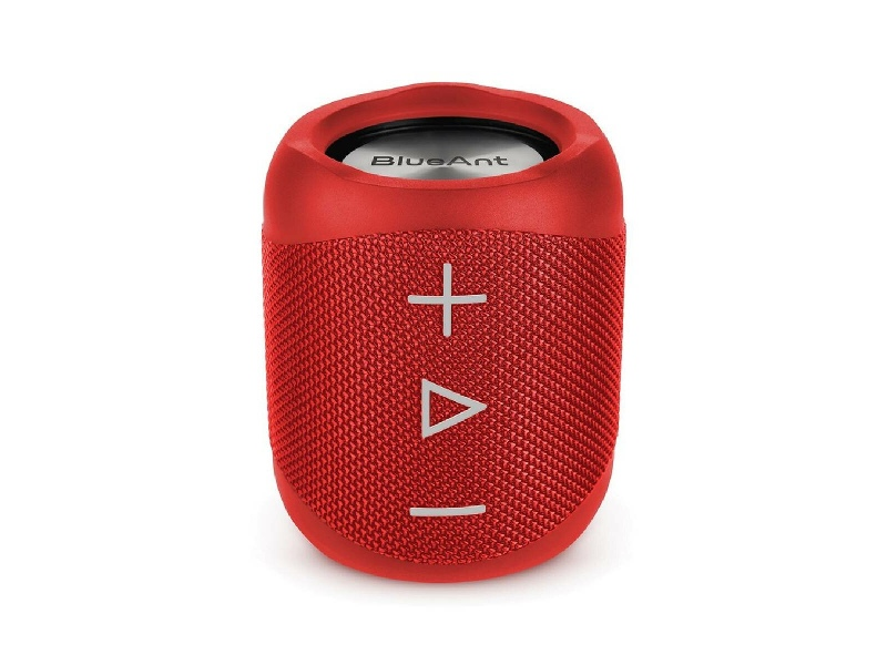BlueAnt Portable Bluetooth Red Speaker X1-RD
