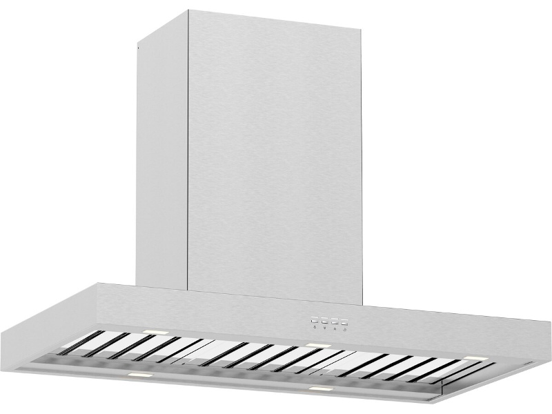 Whispair X5S09S5.EL 90cm Stockholm Canopy Rangehood with Lite External Remote Motor