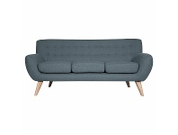 Appliances Online Ostro Bremer Three Seater Lounge Blue Y23560BSKY34