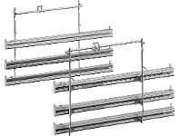 Appliances Online NEFF Z11TF36X0 Full Extension Telescopic Rails 3-Level Stainless Steel