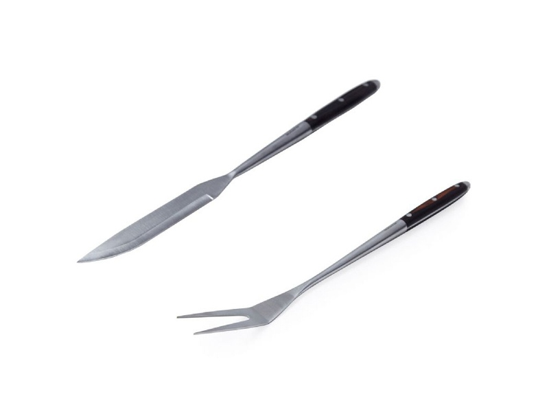 Bugatti BBQ Pakka Barbecue Knife and Serving Fork Pack ZM-0838672