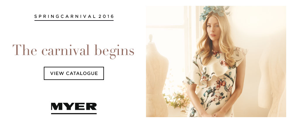Myer - 19th - 15th October