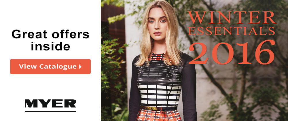 Myer - 25th May - 31st May