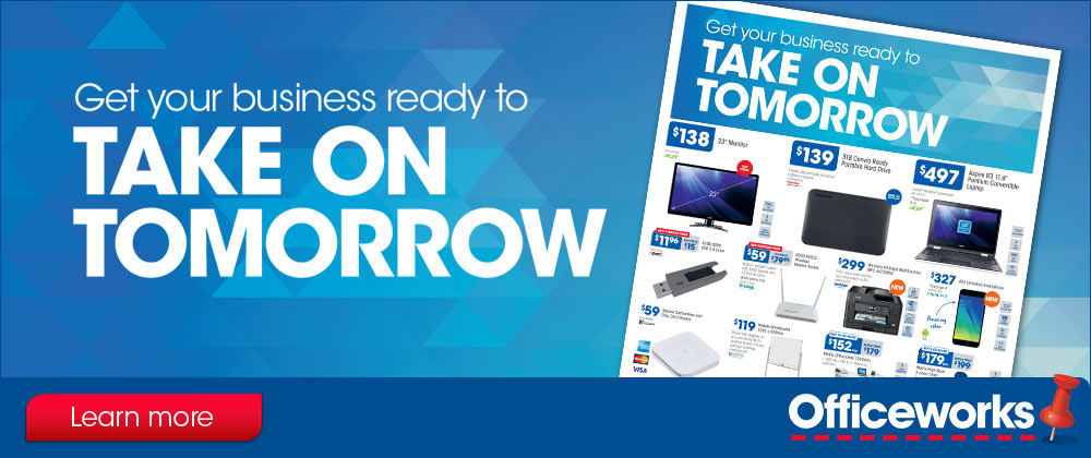 Officeworks - 17th - 23rd May