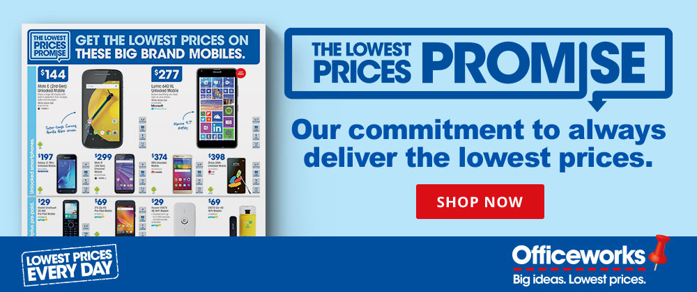Officeworks - 21st - 27th Sept