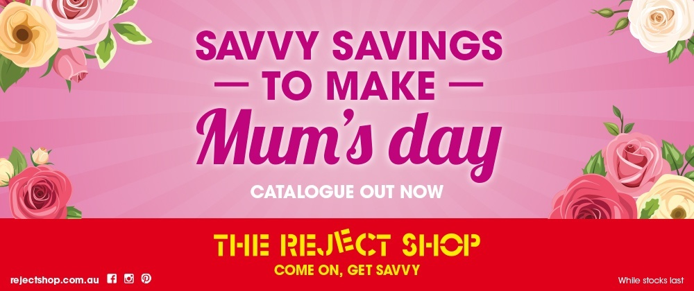 Reject Shop - 27th April - 3rd May