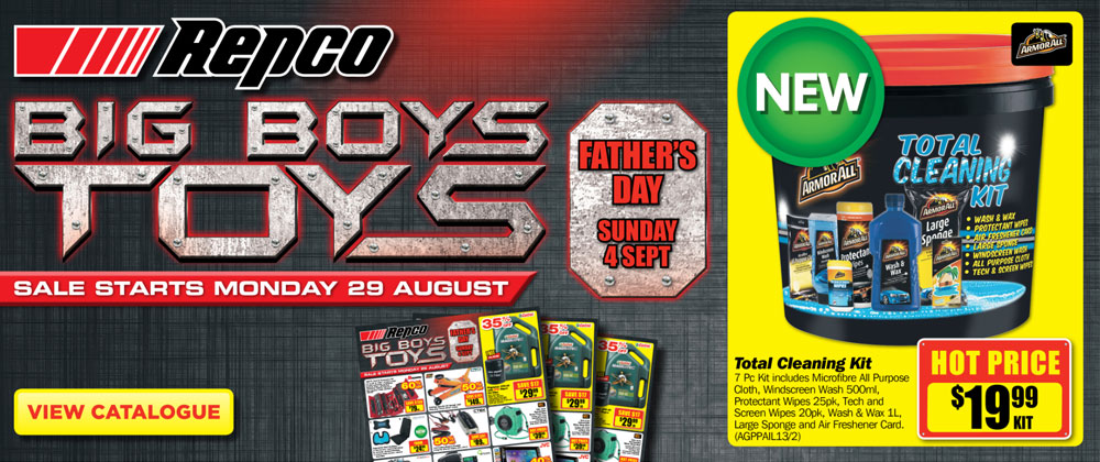 Repco - 29th August - 6th September