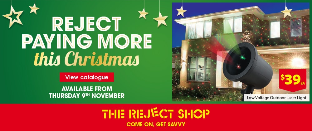 The Reject Shop - 15th - 21st November