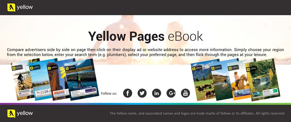 Yellow Pages slider